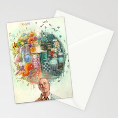 Right & Left Stationery Cards
