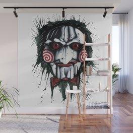 The Horror of Jigsaw Wall Mural