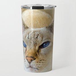 SIAMESE CAT LOVE Travel Mug