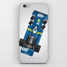 Outline Series N.º3, Jody Scheckter, Tyrrell-Ford 1976 iPhone & iPod Skin