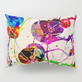 Abstract Expressionism 2 Pillow Sham