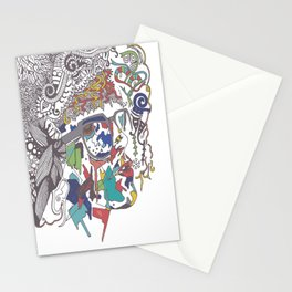 A Woman Stationery Cards