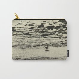 Curlew Wader Bird Rocky Seashore Carry-All Pouch