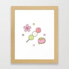 Hanami Nummies | Figure 1 Framed Art Print