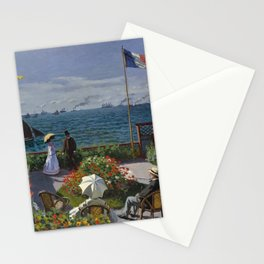 Garden at Sainte-Adresse Stationery Cards