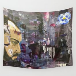 The Pansy Wall Tapestry