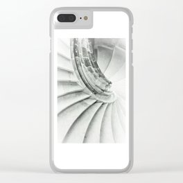 Sand stone spiral staircase 009 Clear iPhone Case
