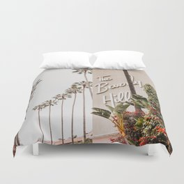 The Beverly Hills Hotel / Los Angeles, California Duvet Cover