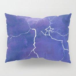 Purple Lightning Pillow Sham