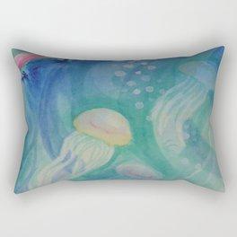 Ocean abstraction #2 Rectangular Pillow