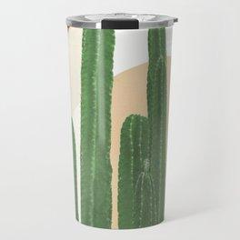 Abstract Cactus I Travel Mug