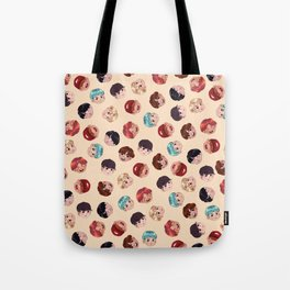 BTS Pattern Tote Bag