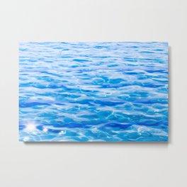 Water Water Water Metal Print