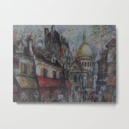 Paris by Maurice Legendre, 2008 Metal Print