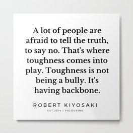 48   |  Robert Kiyosaki Quotes | 190824 Metal Print