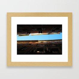 Look at the sky Framed Art Print