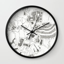 The Multiverse Theory Wall Clock