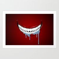 technology Art Prints featuring Hungry Technology by R-evolution GFX