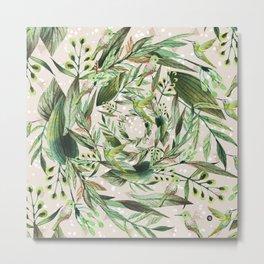 Nature in circles Metal Print