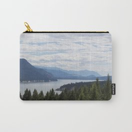 Rocky Mountain lake Carry-All Pouch