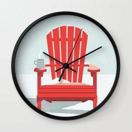 Après Ski Wall Clock