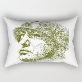 Mussolini For President Rectangular Pillow