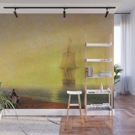 Morning at Sea by Ivan Aivazovsky Wall Mural