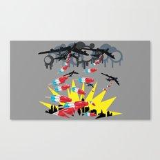 I Scream Canvas Print