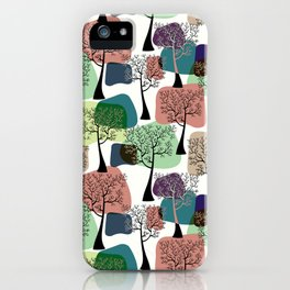 Tree & tree. iPhone Case