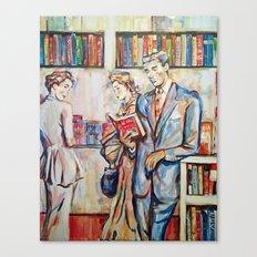 Vintage boy Canvas Print