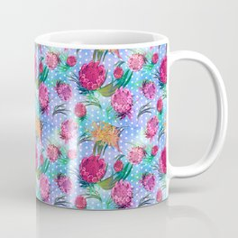 Australian Native Floral Print - Soft Colours Coffee Mug