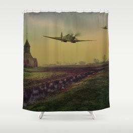 Low At Fairfield Shower Curtain