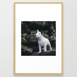 Hello World. Framed Art Print