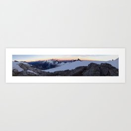 Forbidden Peak Sunset Art Print