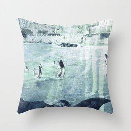 Amalfi coast, Italy Throw Pillow