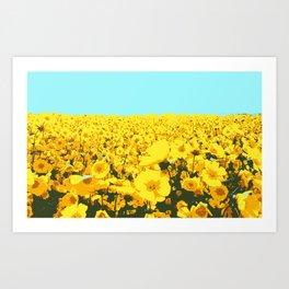 super bloom Art Print