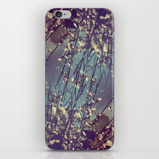 Flower Flip iPhone & iPod Skin