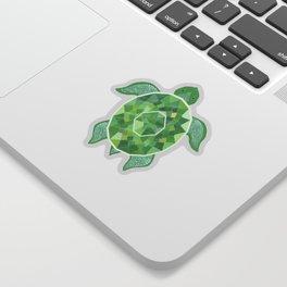 Turtle - Emerald Sticker