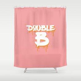 DOUBLE B Shower Curtain