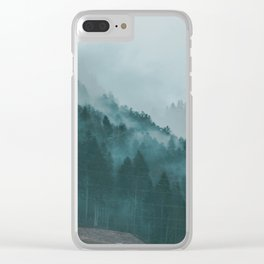 Swiss Fog VI Clear iPhone Case