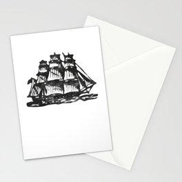 Merchant ship Stationery Cards