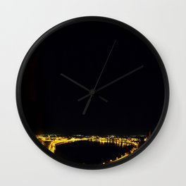 Lakeland Nights Wall Clock