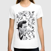 johnny cash T-shirts featuring Johnny Cash by Iany Trisuzzi