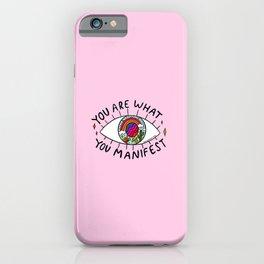 Manifest iPhone Case
