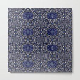Vibrational Pattern 9 Metal Print