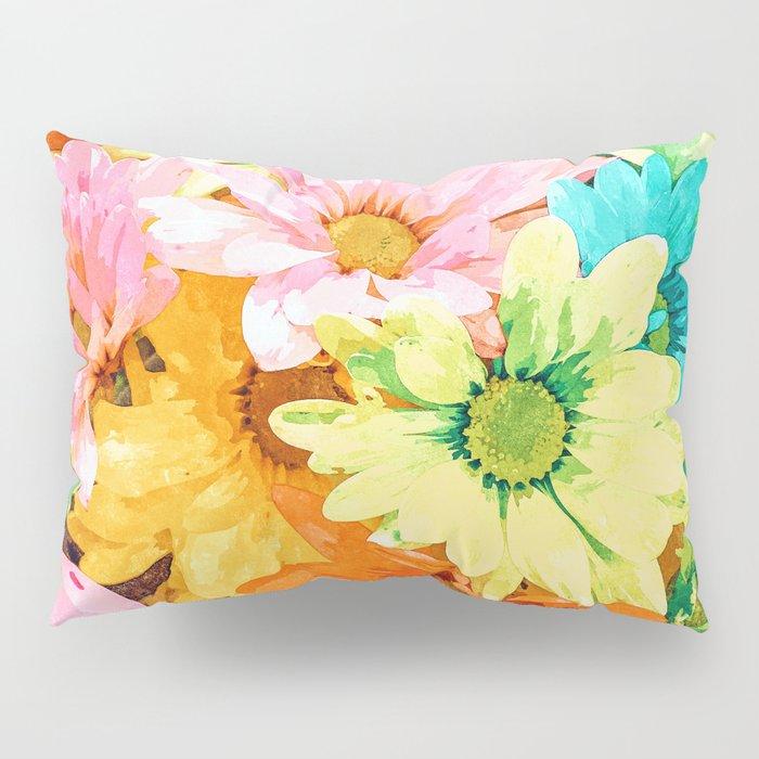 Simone #painting #floral Pillow Sham