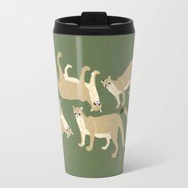 Carnivores of World: Cougar Pum(a) (c) 2017 Travel Mug