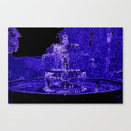 Fairy Fountain Canvas Print