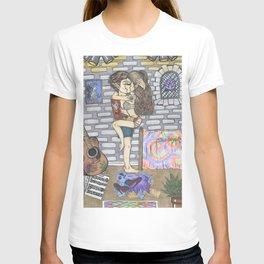 Modern Day Hippies. T-shirt
