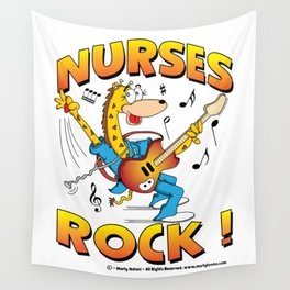 Nurses Rock Merchandise Wall Tapestry